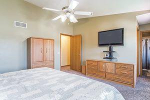 Master Bedroom5709 BELLOWS CIR Photo 11
