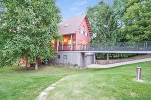 Twilight Front View8510 PRAIRIE HILL RD Photo 3