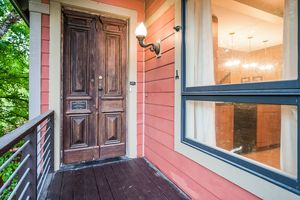 Twilight Front View8510 PRAIRIE HILL RD Photo 7